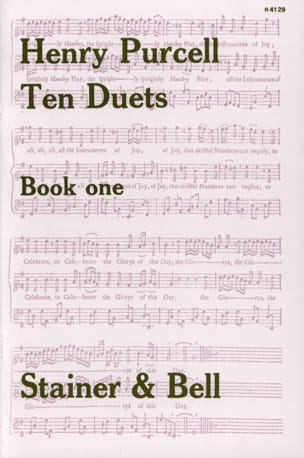 10 Duets Volume 1 PURCELL Partition Duos - laflutedepan