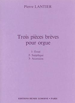 Lantier - 3 Pièces Brèves - Partition - di-arezzo.fr