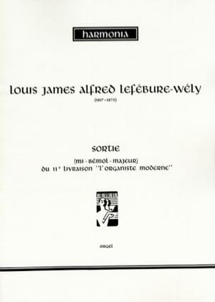 LEFÉBURE-WÉLY - Out In E Flat Major - Sheet Music - di-arezzo.co.uk