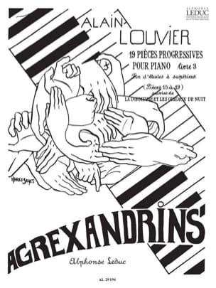 Agrexandrins - Volume 3 - Alain Louvier - Partition - laflutedepan.com