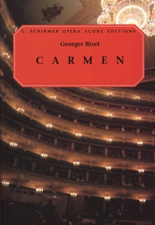 BIZET - Carmen - Sheet Music - di-arezzo.co.uk