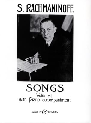RACHMANINOV - Songs Volume 1 - Sheet Music - di-arezzo.co.uk