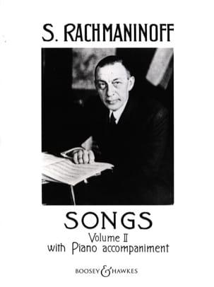 Songs Volume 2 - RACHMANINOV - Partition - Mélodies - laflutedepan.com