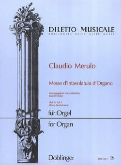 Claudio Merulo - Mass of organ intavolatura Volume 1 - Sheet Music - di-arezzo.com
