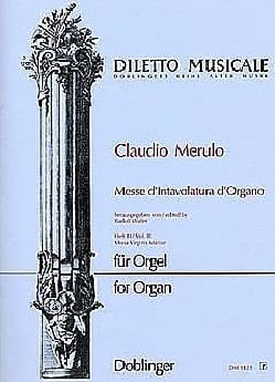 Claudio Merulo - Mass of organ intavolatura Volume 3 - Sheet Music - di-arezzo.com
