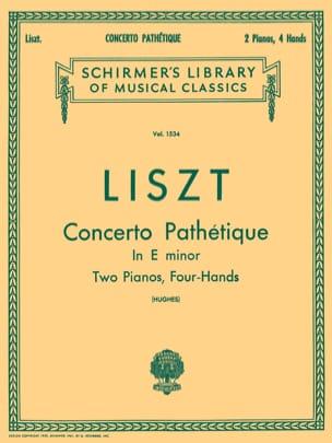 Concerto Pathétique En Mi Mineur - Franz Liszt - laflutedepan.com