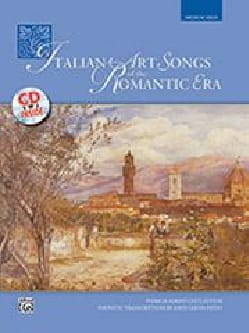 - Italian Art Songs Of The Romantic Era. Medium-High - Sheet Music - di-arezzo.co.uk