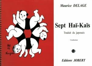Maurice Delage - 7ハイカイ。ピアノの歌 - 楽譜 - di-arezzo.jp