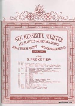 Sergei Prokofiev - Prelude - Opus 12 N ° 7 - Sheet Music - di-arezzo.com