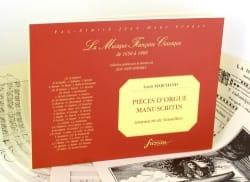 Louis Marchand - Pièces D'orgue Manuscrites - Partition - di-arezzo.fr