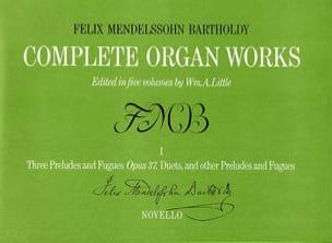 Mendelssohn - Oeuvre Pour Orgue Vol 1. Archive - Partition - di-arezzo.fr