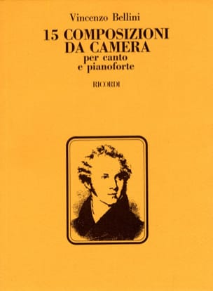 Vincenzo Bellini - 15 Composizioni Da Camera - Partitura - di-arezzo.it