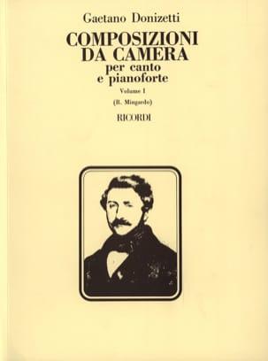 Gaetano Donizetti - Composizioni Da Camera. Volume 1 - Partition - di-arezzo.fr