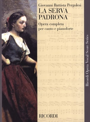 Giovanni Battista Pergolese - The Serva Padrona - Sheet Music - di-arezzo.com