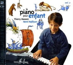 Piano Pour Enfant Volume 2 Cd MASSON - NAFILYAN Partition laflutedepan