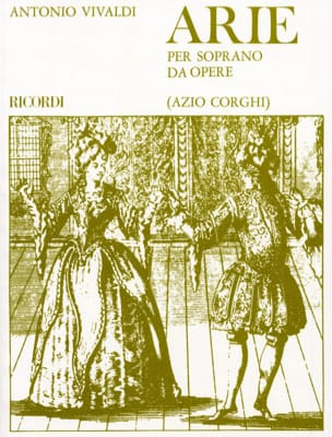 VIVALDI - Arie Per Soprano Da Opere - Sheet Music - di-arezzo.co.uk