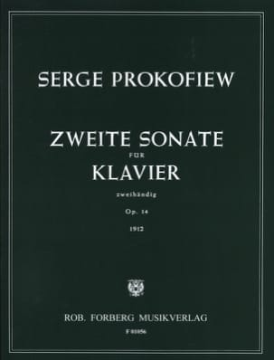 Sergei Prokofiev - Piano Sonata No. 2 Opus 14 - Sheet Music - di-arezzo.co.uk