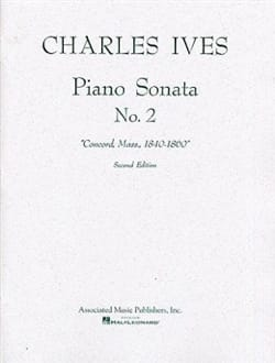 Piano Sonata N°2 IVES Partition Piano - laflutedepan