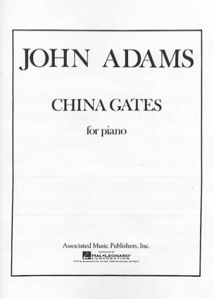 John Adams - China Gates - Sheet Music - di-arezzo.co.uk