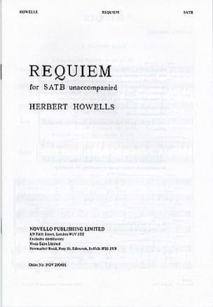 Herbert Howells - Requiem - Partition - di-arezzo.fr