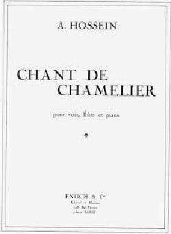 A Hossein - Chant Of Chamelier - Sheet Music - di-arezzo.com