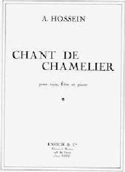 Chant De Chamelier A Hossein Partition laflutedepan