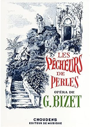 BIZET - The Pearl Fishers - Sheet Music - di-arezzo.co.uk