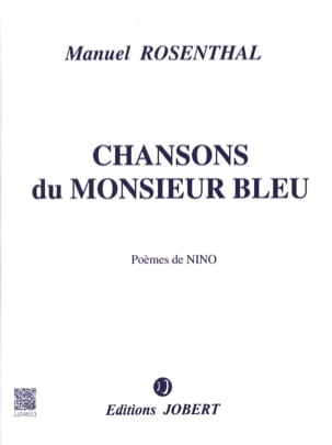 Manuel Rosenthal - Songs of Monsieur Bleu - Sheet Music - di-arezzo.co.uk