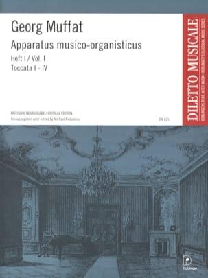 Georg Muffat - Apparatus Musico-Organisticus Volume 1 - Partition - di-arezzo.fr