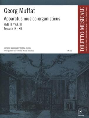 Apparatus Musico-Organisticus Volume 3 Georg Muffat laflutedepan
