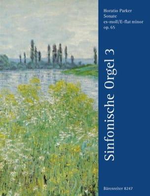 Parker - Sonate En Mi Bémol Mineur Op 65 - Partition - di-arezzo.fr