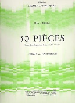 Henri Nibelle - 50 pieces - Sheet Music - di-arezzo.co.uk