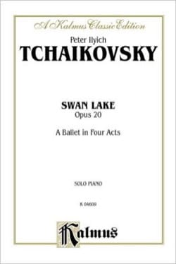 TCHAIKOWSKY - Swan Lake Opus 20 - Sheet Music - di-arezzo.co.uk