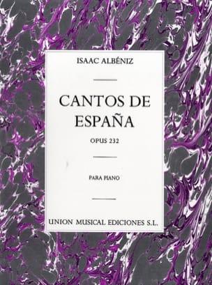 Isaac Albeniz - Chants D'espagne Opus 232 - Partition - di-arezzo.fr