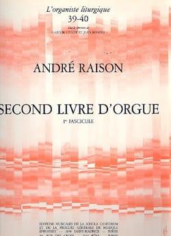 André Raison - Second Organ Book Volume 1 - Sheet Music - di-arezzo.co.uk