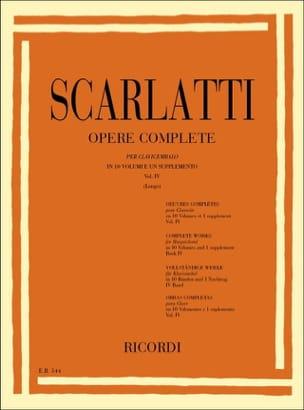 Sonates Volume 4. L151 A L200 - Domenico Scarlatti - laflutedepan.com