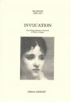 Invocation - Mel Bonis - Partition - Mélodies - laflutedepan.com