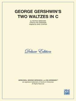 2 Waltzes In C GERSHWIN Partition Piano - laflutedepan