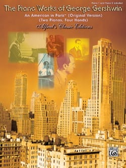 Georges Gershwin - An American In Paris. 2 Pianos - Sheet Music - di-arezzo.co.uk