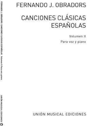 Canciones Clasicas Españolas Volume 2 - laflutedepan.com