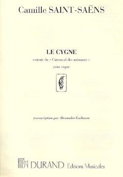 Camille Saint-Saëns - Le Cygne. Orgue. - Partition - di-arezzo.fr