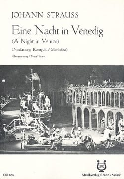 J. Strauss - Ein Nacht In Venedig - Partition - di-arezzo.fr