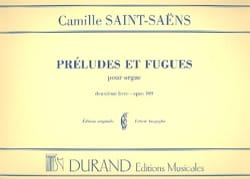 Camille Saint-Saëns - 6 Preludes and Fugues - Opus 109 - Volume 2 - Sheet Music - di-arezzo.com