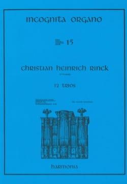 12 Trios - Johann Christian Heinrich Rinck - laflutedepan.com