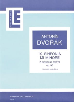 DVORAK - New World Symphony Opus 95 - Sheet Music - di-arezzo.com