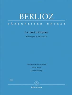 La Mort D'orphée HOL 25 - BERLIOZ - Partition - laflutedepan.com