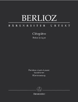 BERLIOZ - Cleopatra - Sheet Music - di-arezzo.co.uk