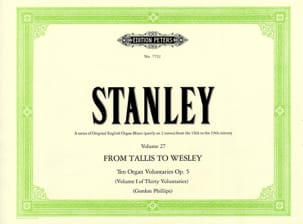 John Stanley - 10 Voluntaries Opus 5 - Sheet Music - di-arezzo.com