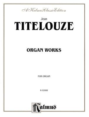 Oeuvre D'orgue Complète En 1 Volume - laflutedepan.com