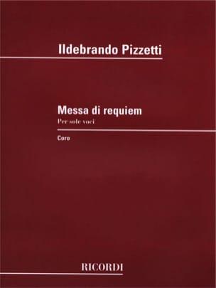Missa Di Requiem - Ildebrando Pizzetti - Partition - laflutedepan.com